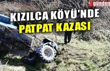 KIZILCA KÖYÜ'NDE PATPAT KAZASI