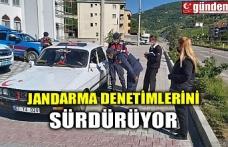 JANDARMA DENETİMLERİNİ SÜRDÜRÜYOR