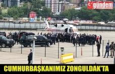 Cumhurbaşkanı Tayyip Erdoğan Zonguldak'ta