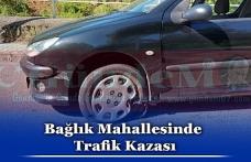 Bağlık Mahallesinde Trafik Kazası