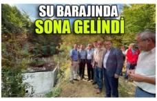 SU BARAJINDA  SONA GELİNDİ