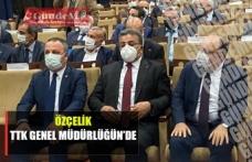 Faruk Özçelik TTK'yı ziyarette bulundu..