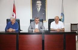 Başkan Yemenici personeli ile bayramlaştı