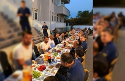 Jandarmadan anlamlı iftar