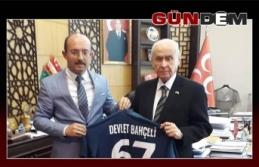 Devlet Bahçeli'ye Çatalağzı Demirspor Forması...
