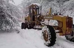 Karabük'te 63 köy yolu yeniden ulaşıma açıldı