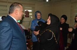 MHP'li başkan adayı Bıyık'a ev ziyaretlerinde tam destek