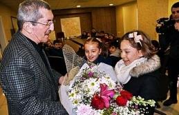 Başkan Vergili, İlkokul öğrencilerini ağırladı