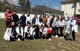 Yortan ÇPAL öğrencilerinden hasta ve yaşlılara ziyaret