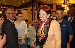 Akşener Safranbolu'da iftar programına katıldı