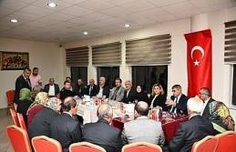 Vali Gürel, şehit aileleri ve gazilerle bir araya gelmeye devam ediyor