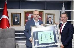 Başkan Özcan'dan Başkan Özlü'ye ziyaret