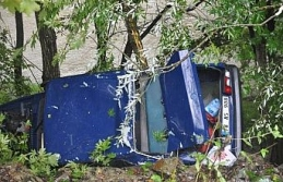 Çaya uçmaktan ağaçlar kurtardı!..
