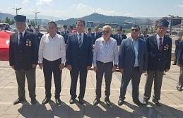 Karabük'te Kıbrıs Barış Harekatı'nın 45. yıl dönümü için tören düzenlendi