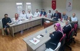 Türk Kızılay Karabük Şube Yönetim Kurulu kurbanlarını bağışladı
