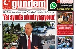 14 EYLÜL 2019 CUMARTESİ GÜNDEM GAZETESİ