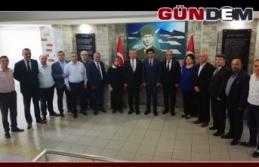 CHP'li Başkanlardan Çoşgun'a hoş geldin ziyareti