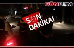 Kaçan alkollü sürücüyü polis yakaladı