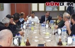 ÇAYCUMA ' DA ÇİĞ SÜT TOPLAYAN ESNAFLA TOPLANTI