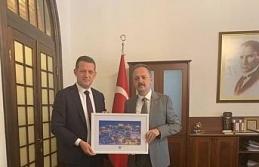 Ürkmezer'den Müzeler Genel Müdürü Yazgı'ya ziyaret