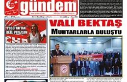 30 KASIM 2019 CUMARTESİ GÜNDEM GAZETESİ