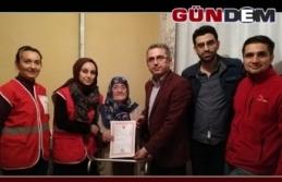80 yaşındaki kadın evini Kızılay'a bağışladı