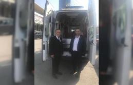 Akçakoca Belediyesine tam donanımlı ambulans hibe edildi