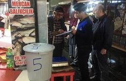 Düzce'de balık pazarı esnafına yeni düzenleme
