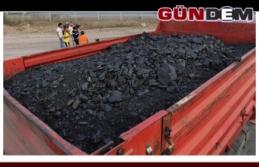 204  ton kaçak kömür yakalandı