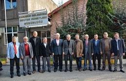 Başkan Çaylı'dan Vergili'ye ziyaret