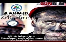 Posbıyık'ın 4 Aralık Dünya Madenciler Günü...