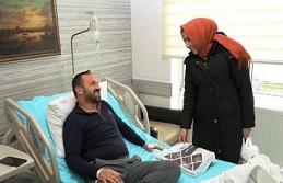Safranbolu Belediyesinden hastalara ziyaret