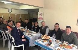 Başkan Köse'den belediye birimlerine ziyaret