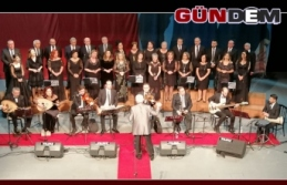 Çaycuma'nin korusu TRT korosu ile muhteşem konser verdi