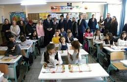 Çaycuma'da öğrenciler karnelerini aldı