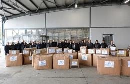 Düzce Üniversitesi'nden Elazığ'a yardım eli
