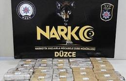 Düzce'de uyuşturucu operasyonunda 5 tutuklama