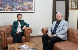 Başkan Çaylı'dan Elif Köse'ye ziyaret