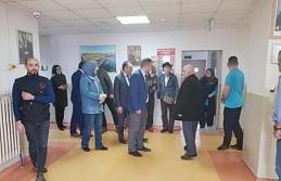 Başkan yardımcısı Gösterişli huzurevi sakinlerine ziyaret etti