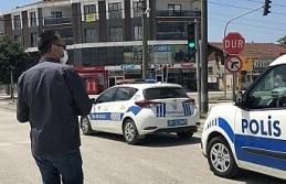 Belediye polisleri bayramda unutmadı