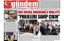 17 Haziran 2020 Çarşamba Gündem Gazetesi