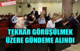 VELİOĞLU, 'TERMİNAL ESNAFINDAN KİRA ALINMASIN'...