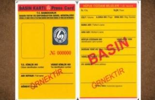 BASIN KARTI KOMİSYONU TOPLANIYOR