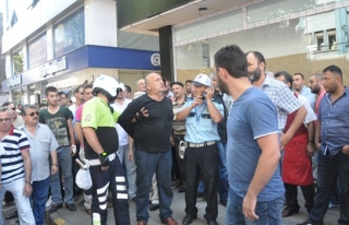 ALKOLLÜ SÜRÜCÜ YAYA´ YA ÇARPTI POLİS TARAFINDAN...