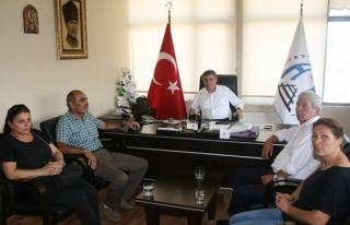 CHP İLÇE ÖRGÜTÜNDEN KANDİLLİ BELEDİYE BAŞKANI...