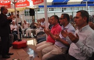 ŞEHİR MEZARLIĞI'NDA MEVLİD-İ ŞERİF OKUTULDU