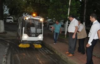 Alaplı belediyesine yeni araç