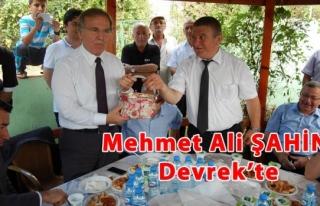 Mehmet Ali ŞAHİN Devrek´te konuştu, 12´den...