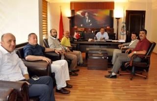 Çakır'dan Hüseyin Uysal'a teşekkür ziyareti