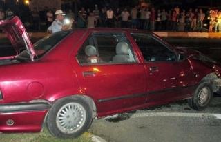 Trafik kazası: üç yaralı